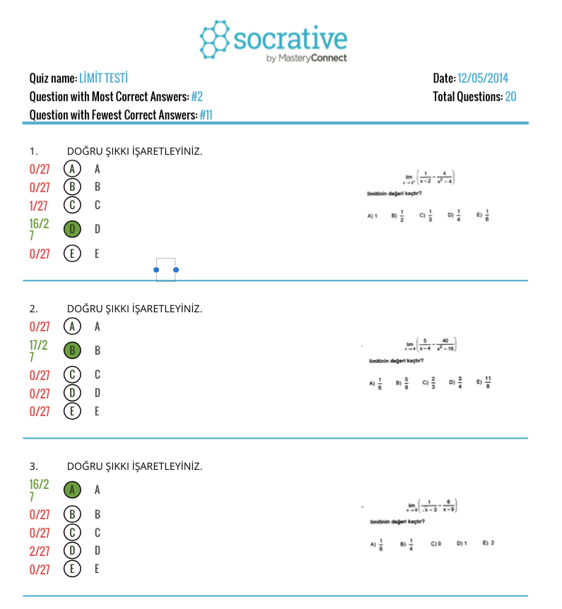 socrative rapor 2